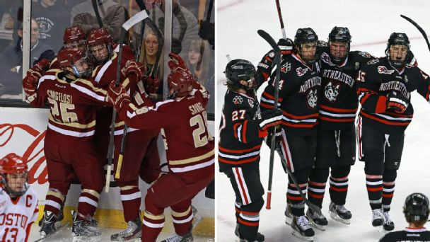 Boston College, Northeastern