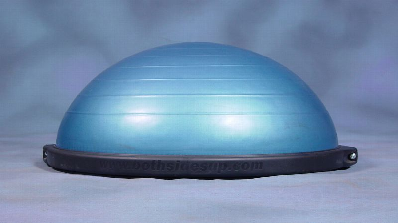 pThe a href=http://bosu.com/index.php?route=product/product&path=20&product_id=54BOSU/a is probably the most popular and recognizable balance trainer on the market. It stands for Both Sides Up because you can use either side of the device. There's a flat platform on one side and what looks like half of a stability ball on the other. You can do any number of exercises using the BOSU, and the instability of the surface, no matter which side you're using, forces you to engage your core and improve your balance. /p