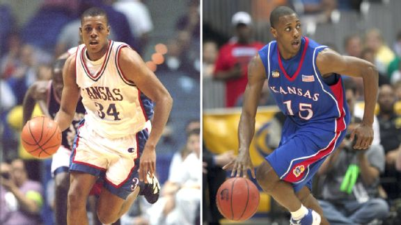 Paul Pierce and Mario Chalmers