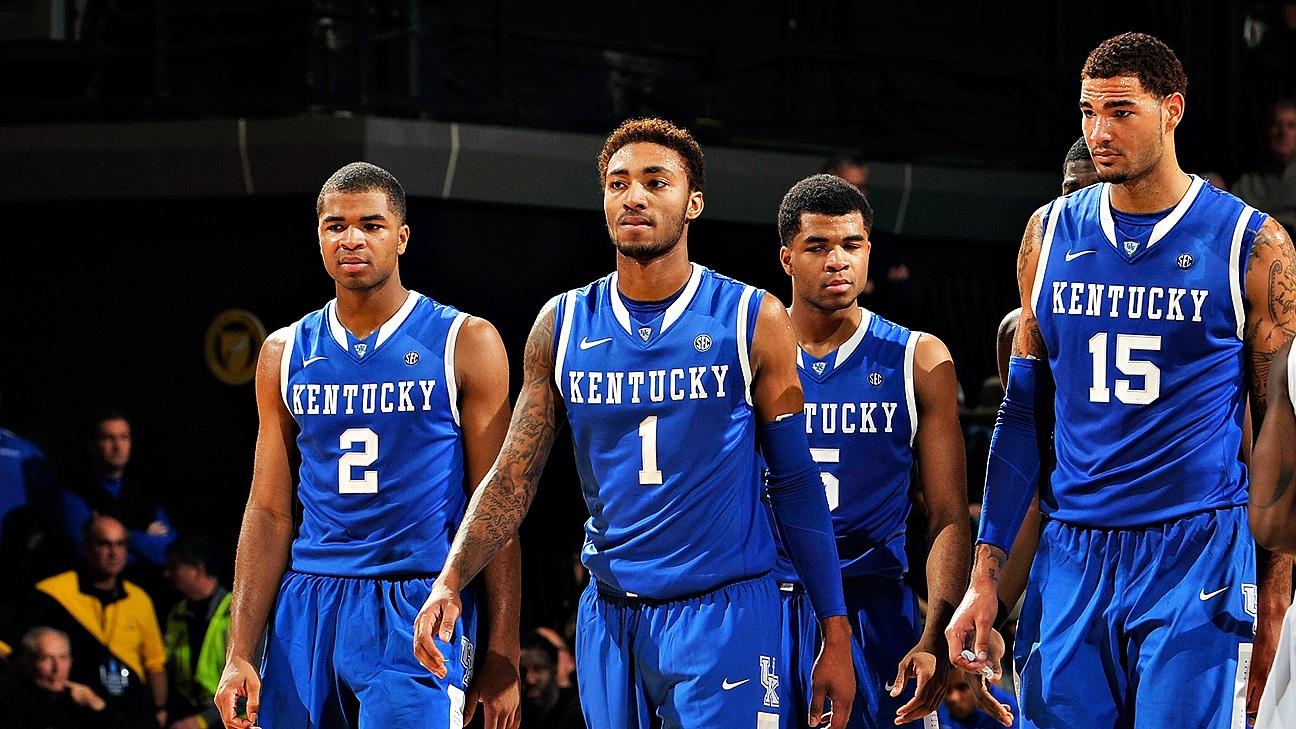 2014 15 Kentucky Wildcats Men S Basketball Team: Kentucky Wildcats, Kansas Jayhawks Battle For Most