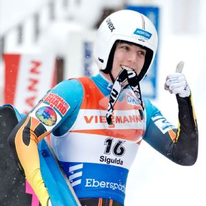 Erin Hamlin is the veteran of the team, at 27.
