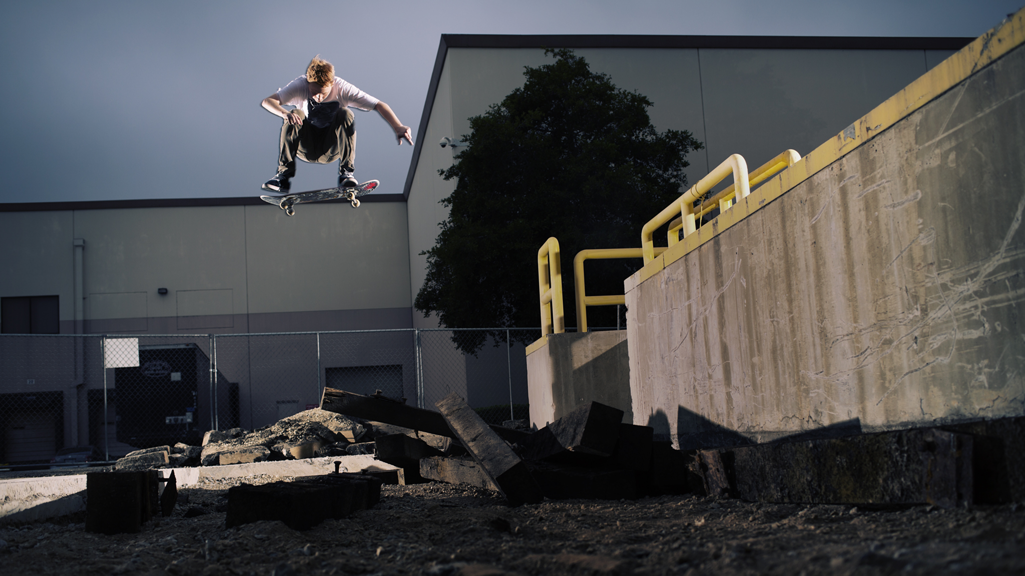 Switch heelfip from 2013 Tampa Am winner Jack Olson, now officially an am for Real Skateboards.