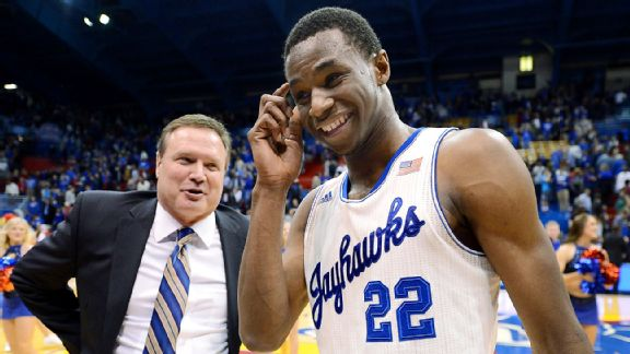Bill Self, Andrew Wiggins
