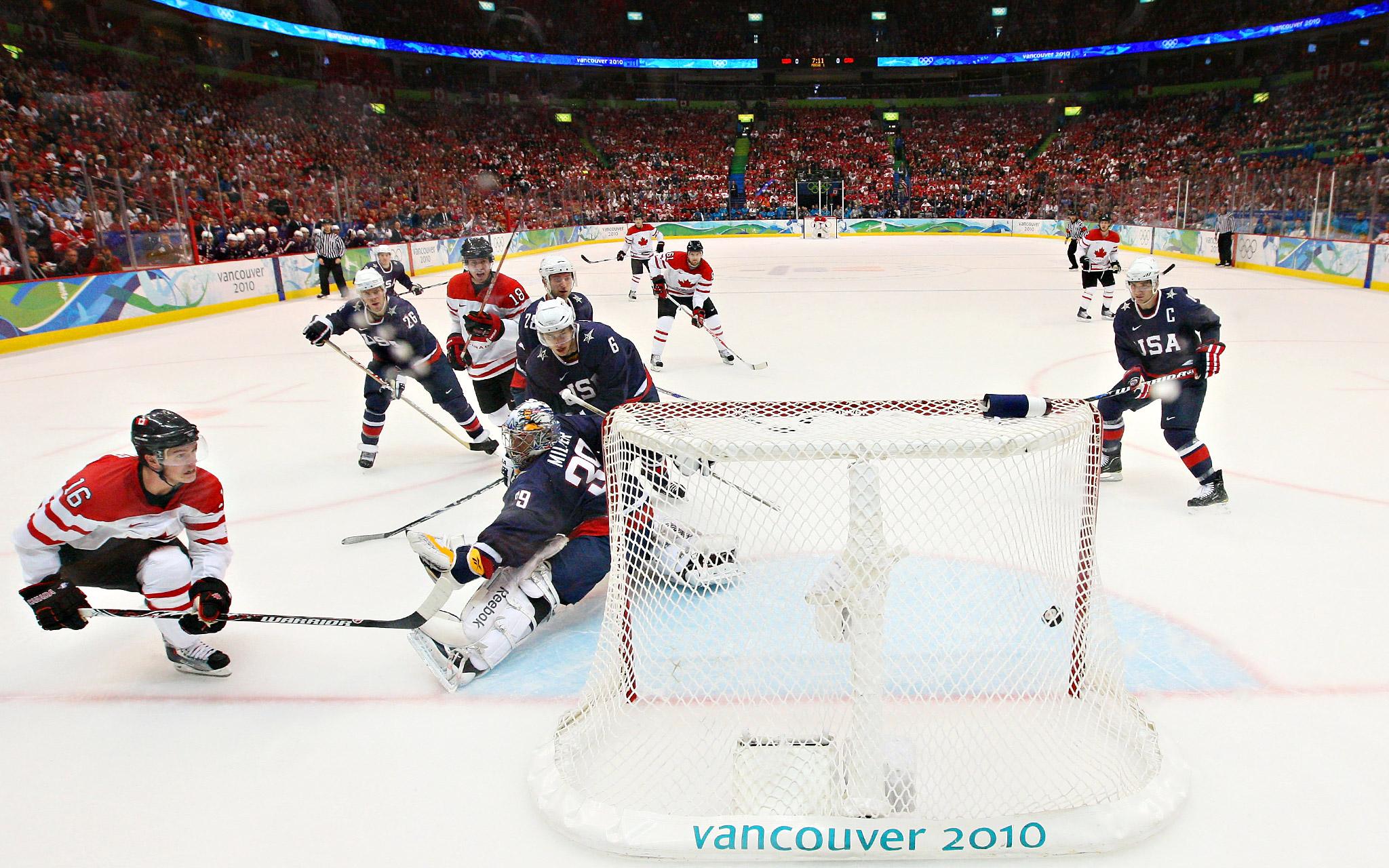Canada Takes 1-0 Lead