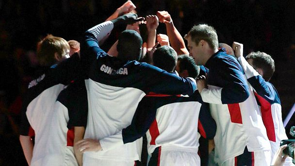 Gonzaga Huddle