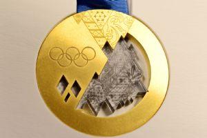 Sochi 2014 Olympic Gold Medal