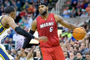 LeBron James, Jeremy Evans