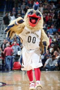 Mascot Pierre the Pelican