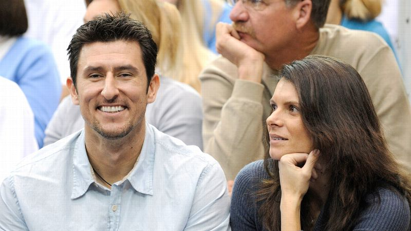 Mia Hamm, seen here with husband Nomar Garciaparra, said that in her new role with AS Roma she will help build brand awareness stateside.