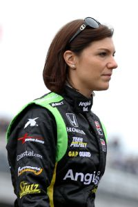 Former IndyCar driver Katherine Legge seems to have found her niche in SportsCar.
