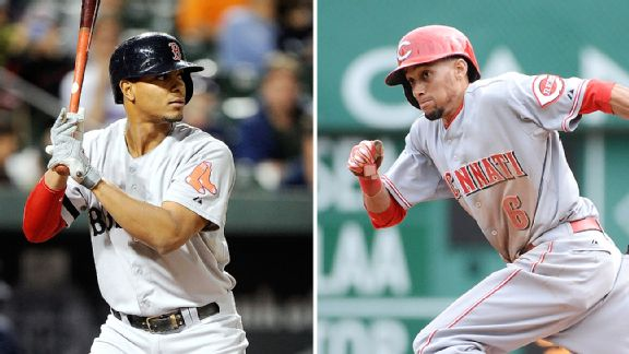 Xander Bogaerts and Billy Hamilton