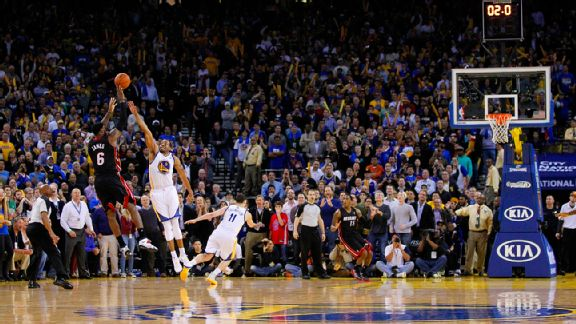 Remember this shot? LeBron sure does, along with plenty more just like it.