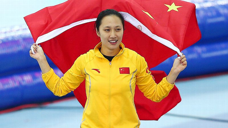 Feb. 13: W Silver Medalist Zhang Hong
