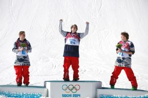 Joss Christensen, Gus Kenworthy and Nicholas Goepper