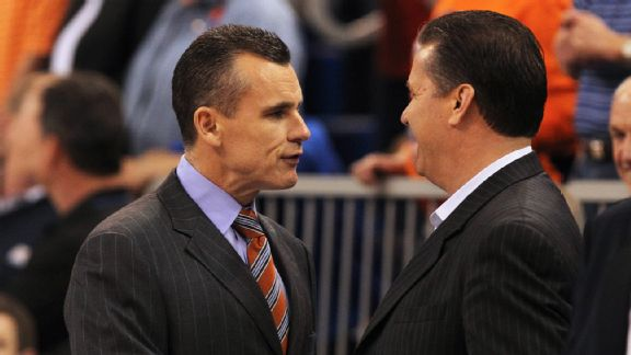 Billy Donovan, John Calipari