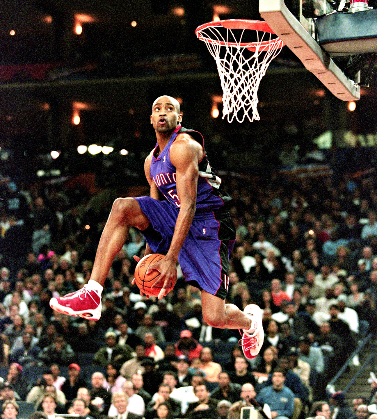Tracy Mcgrady And Vince Carter Raptors Vince carterTracy Mcgrady Dunk