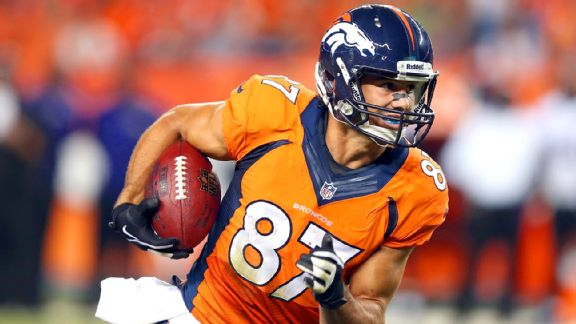 Eric Decker had impressive numbers in 2013, but his struggles in SB XLVIII can't be ignored.