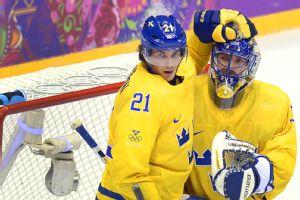 Loui Eriksson and Henrik Lundqvist