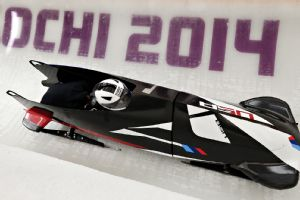 Elana Meyers, driving in USA-1, was able to resume training after a minor crash Friday.