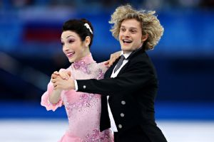 Meryl Davis and Charlie White could become the first Americans to win gold in ice dancing.