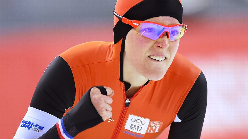 Four years ago in Vancouver, Haralds  Silvos of Lativa made history when he was the first speedskater to even just compete in both the short and long track disciplines in the same Games. Jorien ter Mors can do him one better by actually medaling in both after taking the gold today in the 1,500 meters. The Dutch speedskater already set an Olympic record in her win with her time of 1 minute, 53.51 seconds. The Netherlands swept the 1,500 to bring their total to an astonishing 16 out of 24 speedskating medals thus far in Sochi. iPhoto: Jung Yeon-Je/AFP/Getty Images/i