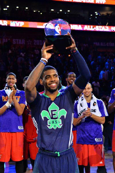 94c97ee6012 Kyrie Irving named All-Star MVP