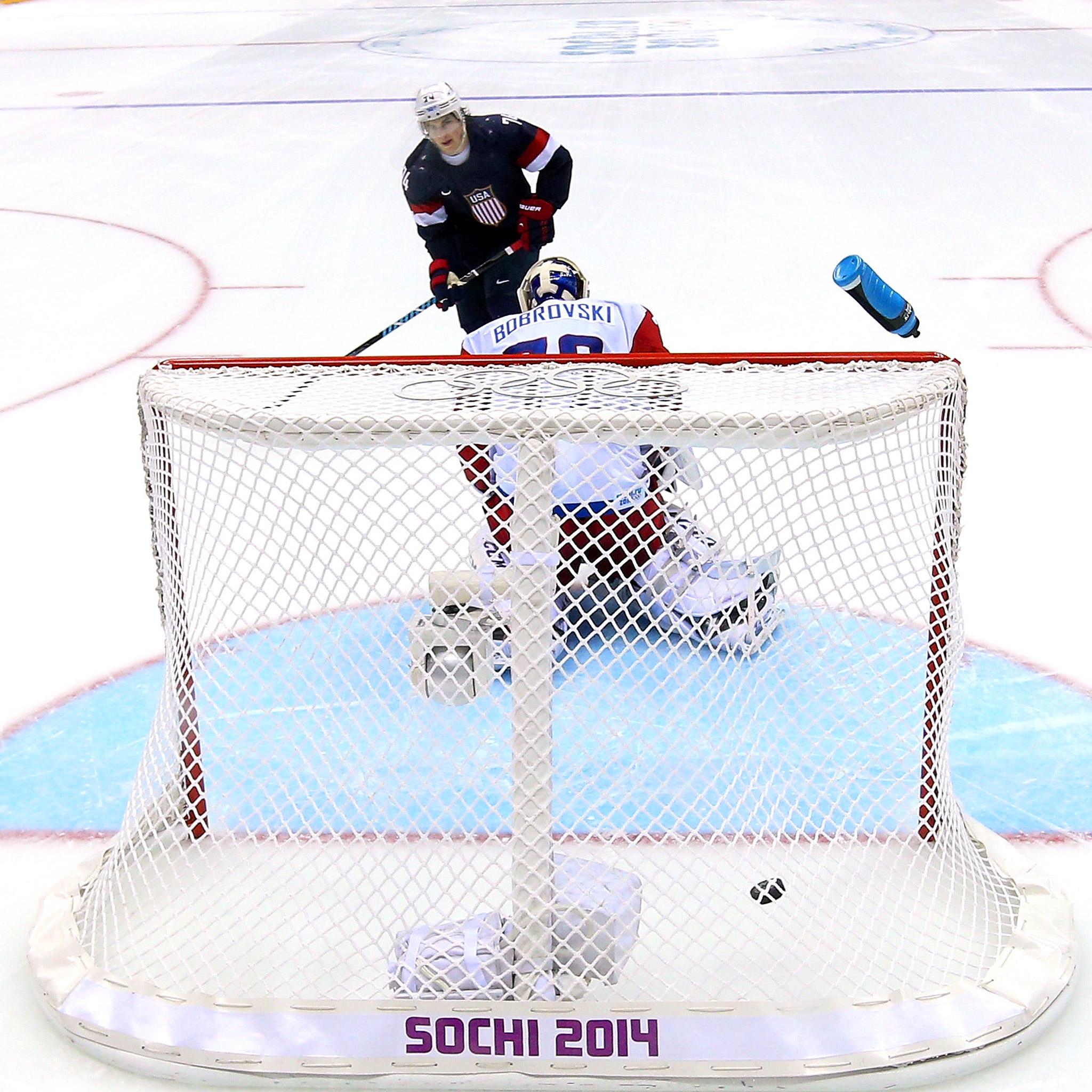 Oshie in Sochi