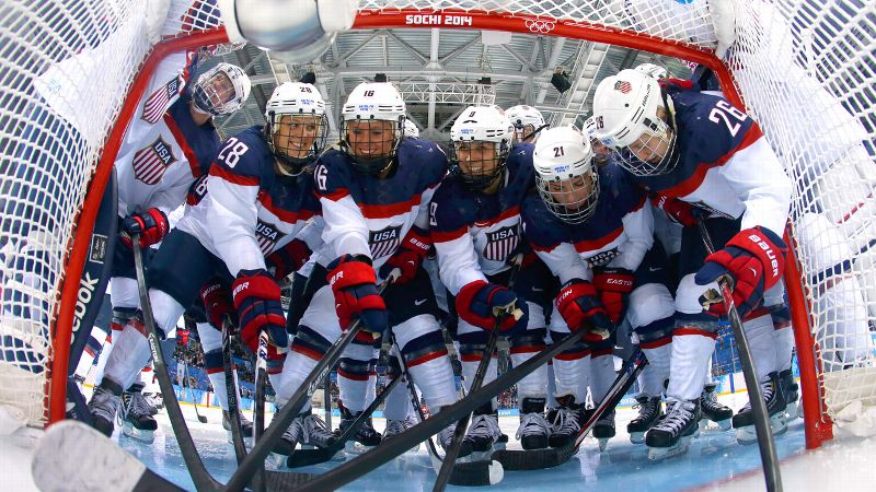 The U.S. women's hockey team has shared the spotlight with Canada for the last five Olympics.