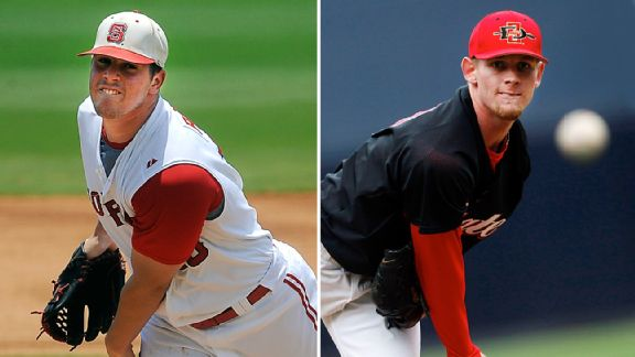 Carlos Rodon and Stephen Strasburg