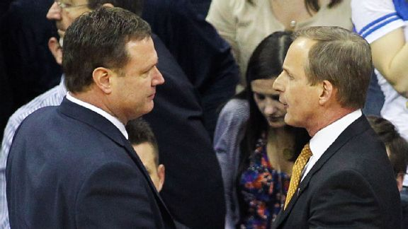 Bill Self, Rick Barnes