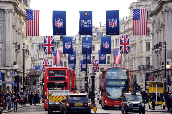what nfl teams play today nfl london