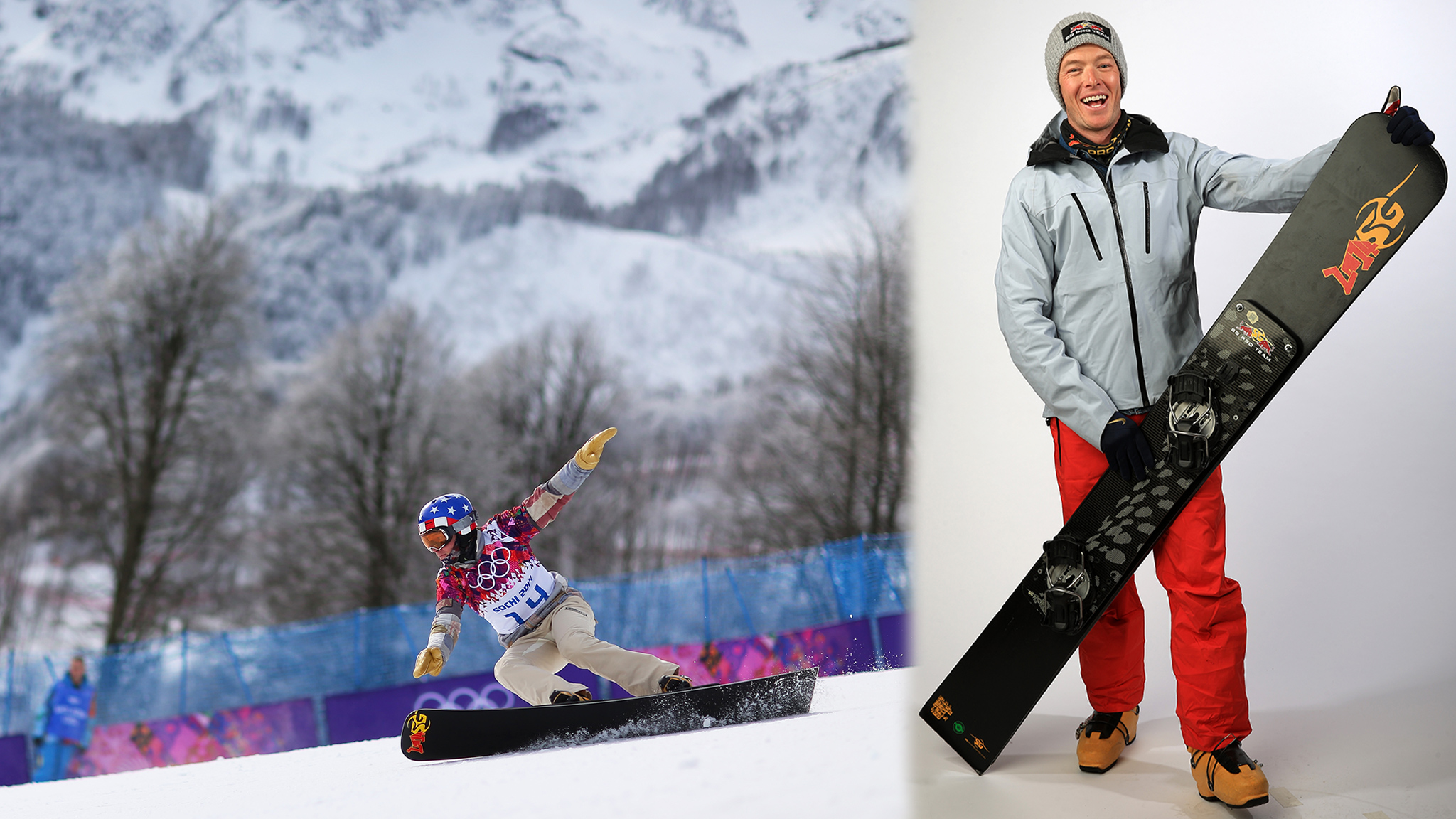 Reiter is the lone member of the U.S. Olympic alpine snowboard team.