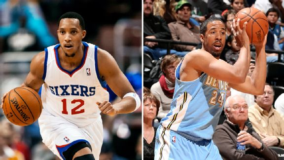 Evan Turner and Andre Miller