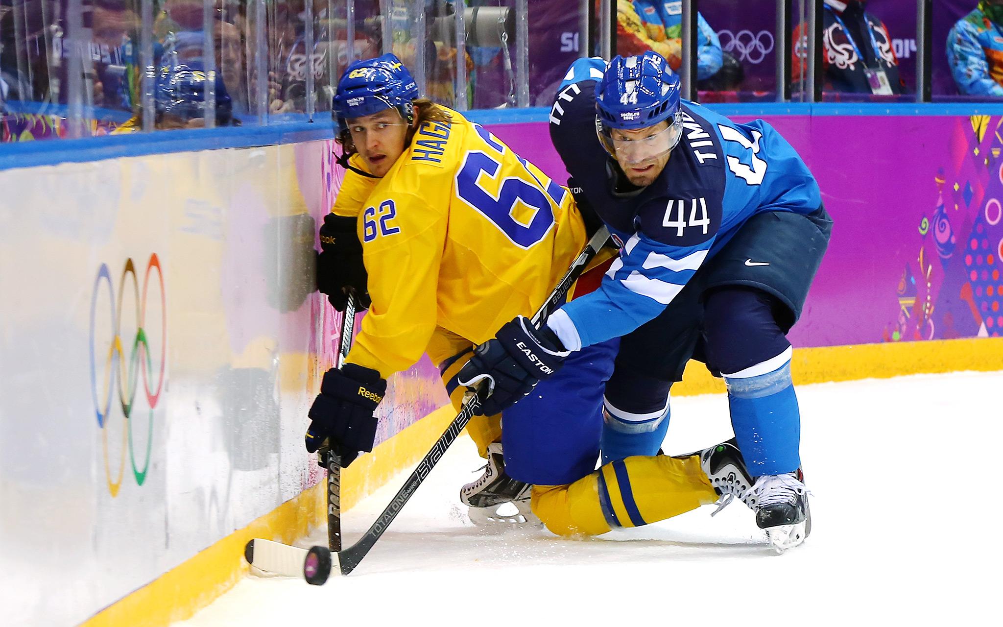 Men's Hockey Semifinal - Sweden vs. Finland - Sochi ...