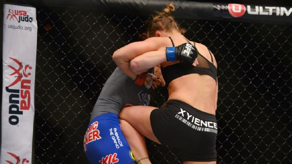 Ronda Rousey vs. Sara McMann