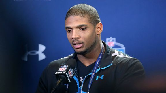 Michael Sam seizes moment at combine
