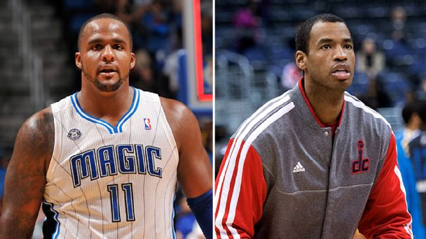 Glen Davis and Jason Collins