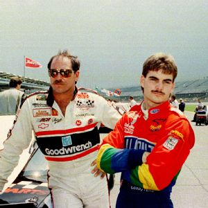 Dale Earnhardt, Jeff Gordon