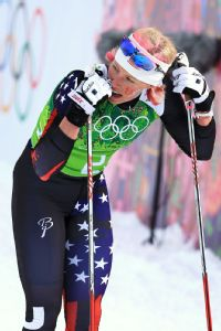 Kikkan Randall was determined to put cross-country skiing on the map. Her Olympic dream ended with no medal.