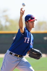 Darvish feels 'good' after intrasquad inning