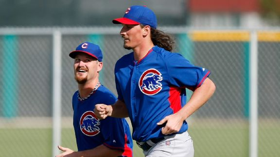 Travis Wood, Jeff Samardzija