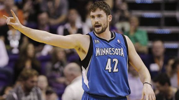 Minnesota Timberwolves forward Kevin Love
