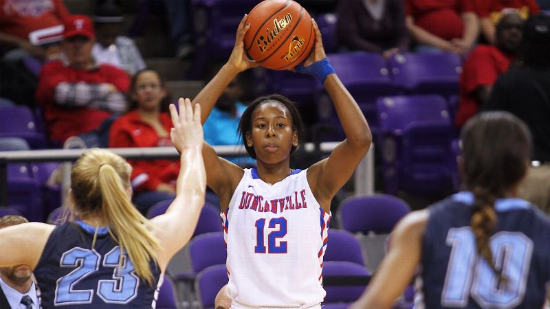 The Texas recruit won two state titles and was part of a 105-game winning streak at Duncanville.  The elite 5-11 guard averaged 17.9 points, 5.8 rebounds, 4.8 steals and 3.9 assists as a senior and was named the Morgan Wootten player of the year and a WBCA All-American.