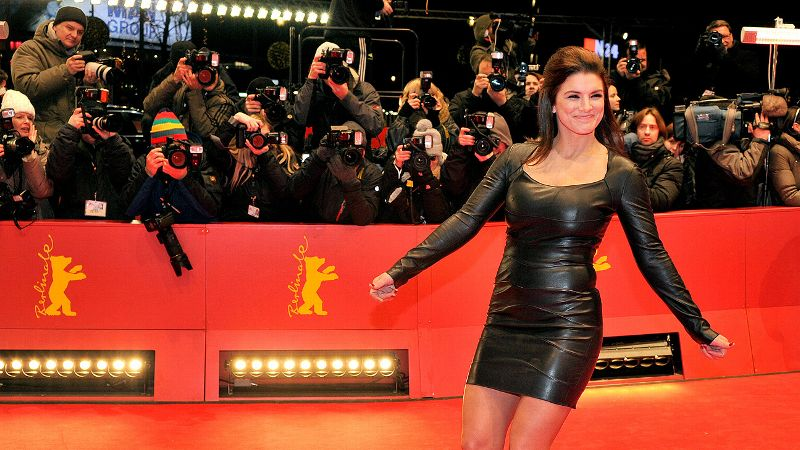 Former MMA fighter Gina Carano is just one of several athletes to make the transition to Hollywood movie star.