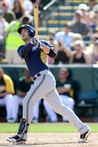 Braun homers in 1st at-bat back from ban