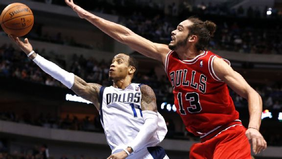 Monta Ellis and Joakim Noah