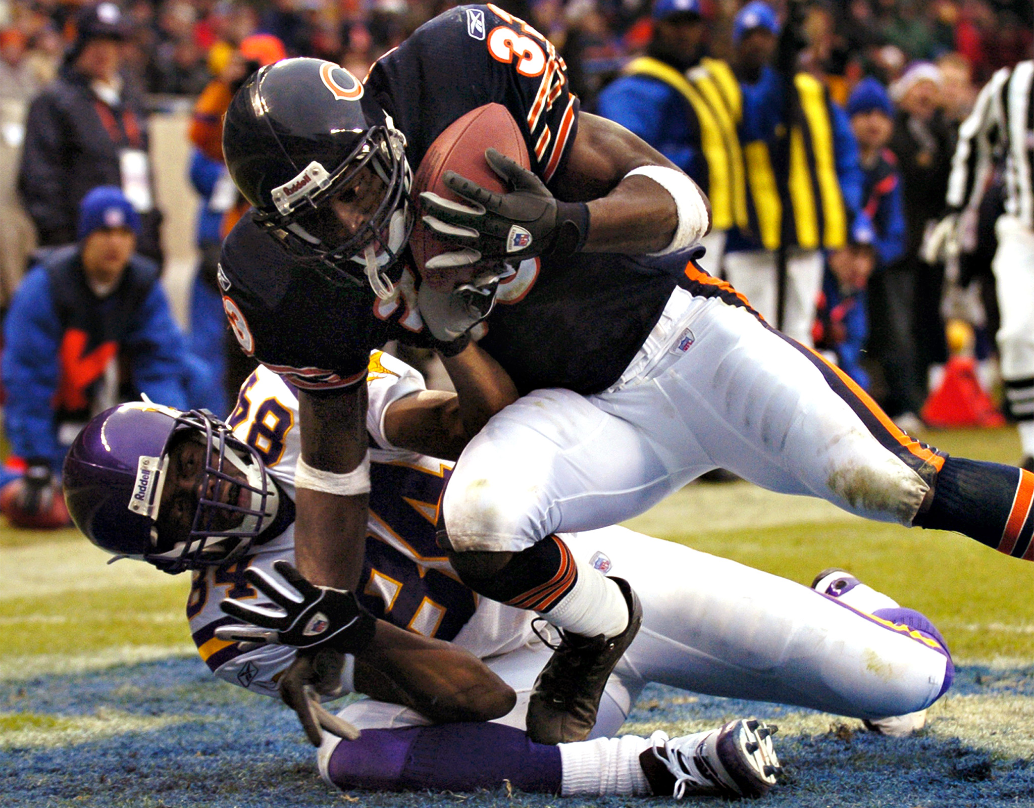 December 14, 2003 - Tillman vs Randy Moss