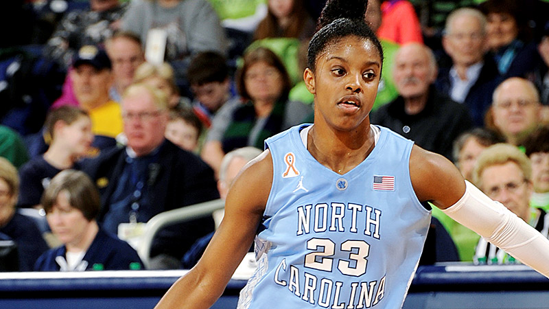 ACC: Diamond DeShields, North Carolina, 6-1, G