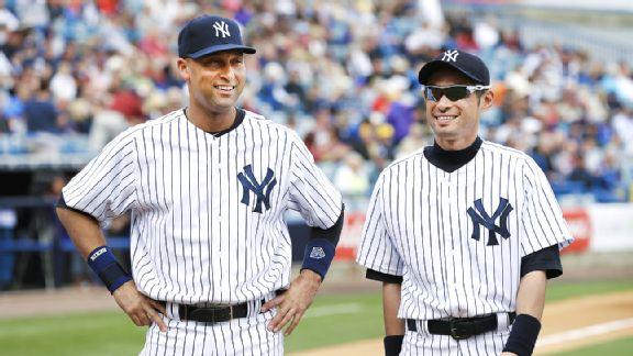 Derek Jeter and Ichiro Suzuki