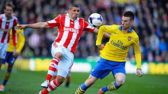 Stoke City vs Arsenal 1-0